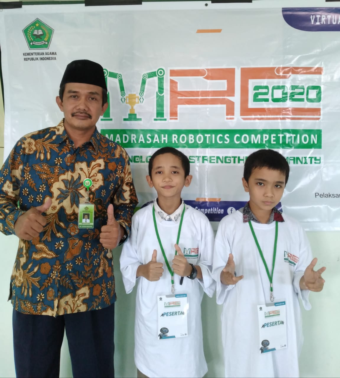 30 Besar Nasional Madrasah Robotics Competition 2020