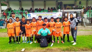 Siswa MIN 1 Sleman Menjadi bagian dari Tim Sepakbola Kecamatan Mlati dalam KOSN tingkat Kabupaten th 2020
