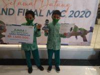 Alhamdulillah, Juara 1 Best Participant Madrasah Robotics Competition 2020 tingkat Nasional, Kamis, 28 Januari 2021, DKI Jakarta